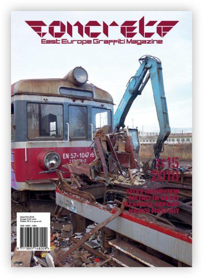 Concrete #15 magazine