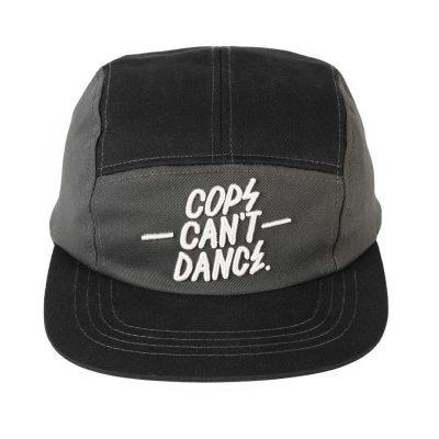 Cops can't dance cap grey