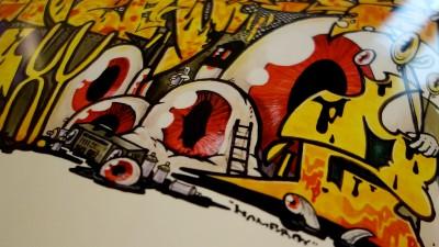 Homeboy/ Graffiti lettering