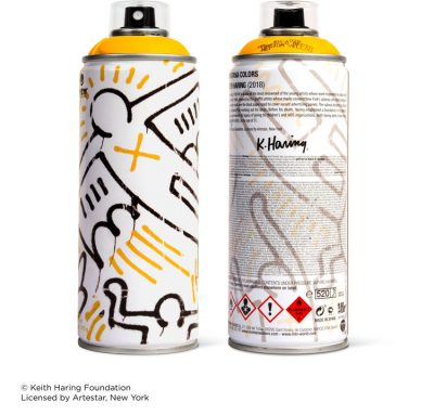 Keith Haring Special Edition Artist Series Can – Yellow