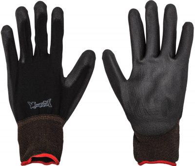 Montana nylon gloves black S/M/L