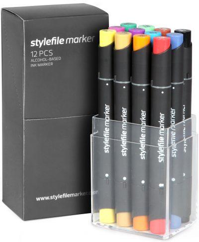 Stylefile Marker 12 pcs Main A