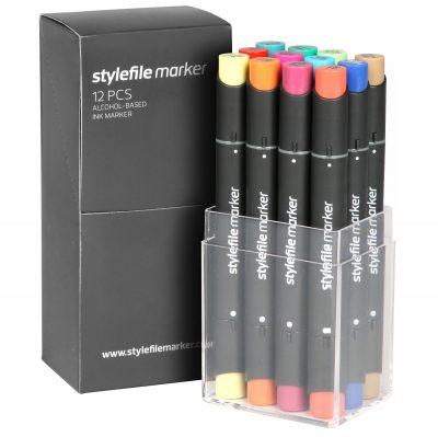 Stylefile Marker 12 pcs Main B