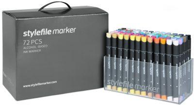 Stylefile Marker 72 pcs set Main A