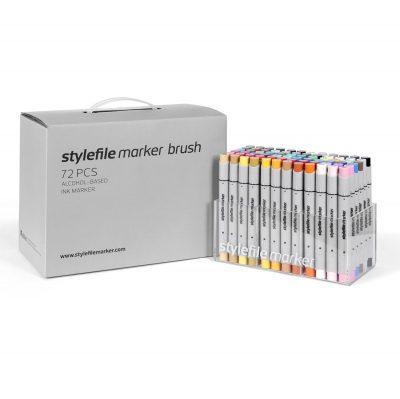 Stylefile Marker Varf Pensula 72 pcs