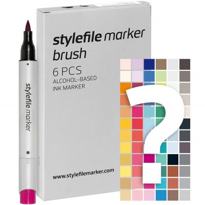 Stylefile Marker Varf Pensula Try Out