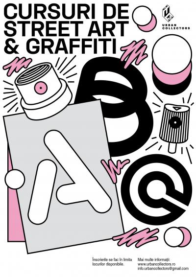 Cursuri de graffiti stencil pasteups & stickers